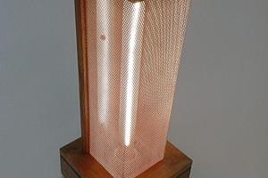 Triple Square Lamp